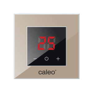 Терморегулятор CALEO NOVA встраиваемый цифровой, 3,5 кВт, кофейный