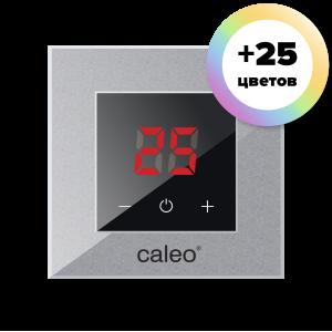 Терморегулятор CALEO NOVA встраиваемый цифровой, 3,5 кВт, алюминиевый