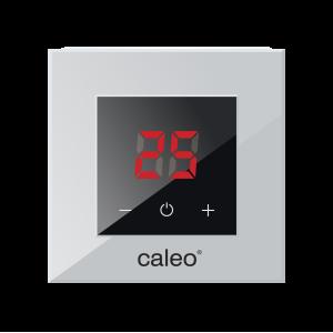 Терморегулятор CALEO NOVA встраиваемый цифровой, 3,5 кВт, серебристый