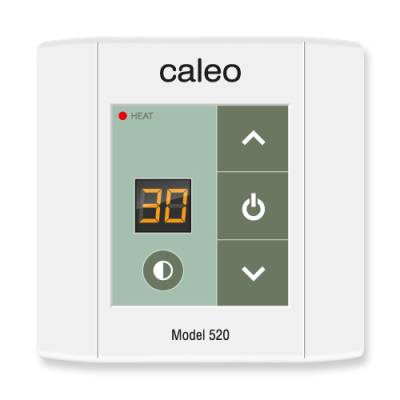 Терморегулятор CALEO 520 накладной цифровой, 2 кВт